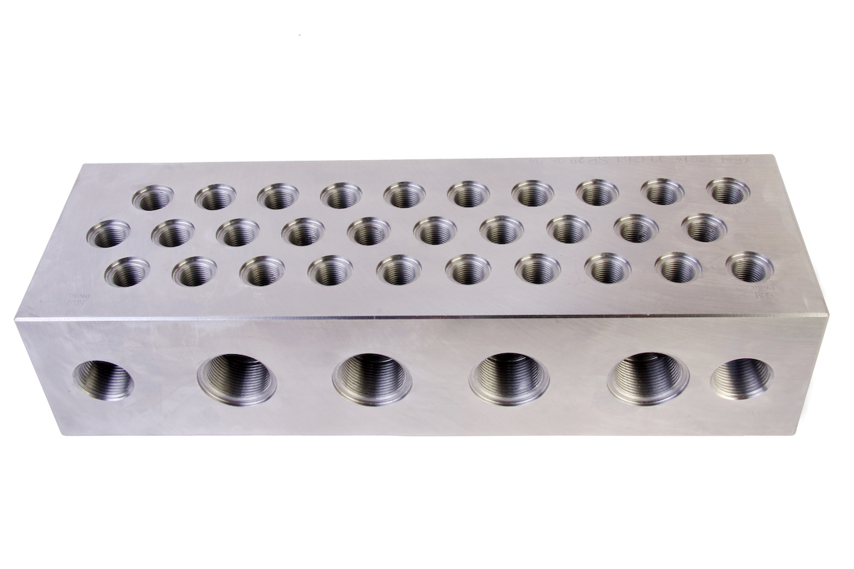 electro-mechanical-equipment-Heat-Exchanger-Header-Block